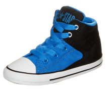 'Chuck Taylor All Star High Street High' Sneaker blau / schwarz / weiß