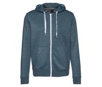 Sweatjacke 'Deacon' blau