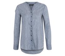 Tunika mit Allover-Print blau / mischfarben