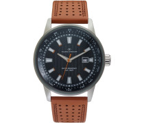 Armbanduhr »5411502« braun / schwarz