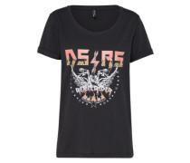 T-Shirt 'Maison 2' schwarz