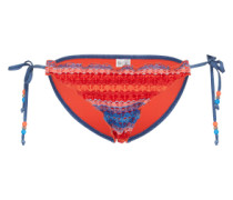Bikinihose 'Havana Stripe' rot