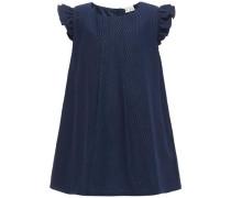 Kleid Kurzärmeliges nachtblau