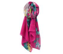 Schal Wensley blau / gelb / grau / pink