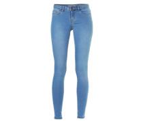 Skinny Jeans 'nmeve' blue denim