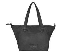 Jasmin Washed Shopper schwarz