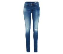 'Livier' Jeggings Skinny Fit '881B' blue denim