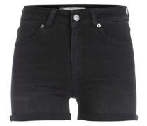 Jeans-Shorts schwarz