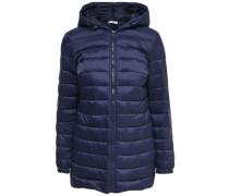 Mantel Gesteppter Nylon- blau