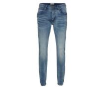 'Skinny fit' Jeans blau