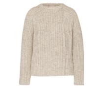Grobstrick-Pullover 'Boy' grau