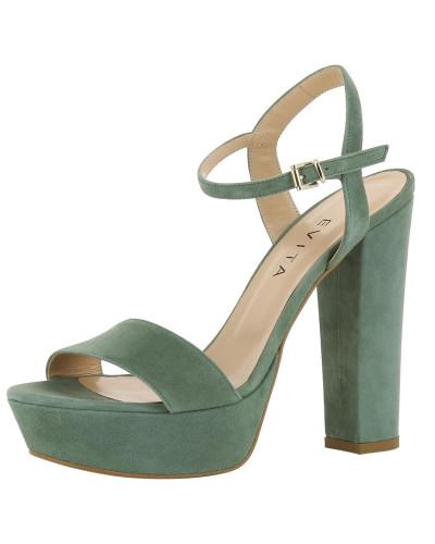 Spielraum Ebay Verkauf Online-Shop Evita Damen Sandalette 'stefania' oliv Verkauf Wahl Günstig Online Kaufen j8d3f