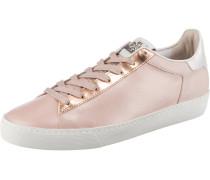 Sneaker 'Glinty' rosa / weiß / rosegold