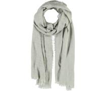 Viskose-Leinen Schal grau