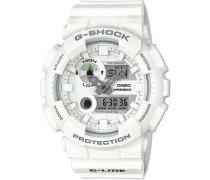 G-Shock Chronograph weiß