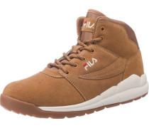 Boulder Sneakers braun / rot / weiß