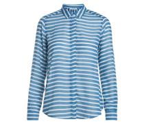 Gestreiftes Hemd blau / weiß