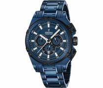 Chronograph »F16973/1« blau