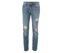 Jeans 'slim Straight - Loki Blue' blue denim