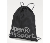 Turnbeutel 'drawstring Sports Bag' schwarz