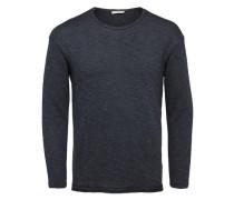 T-Shirt mit langen Ärmeln und Rundhalsausschnitt taubenblau