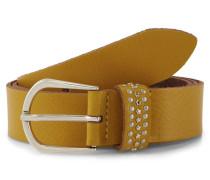 Belts Ledergürtel mit Nieten-Details