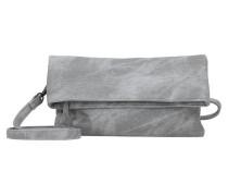 'Ronja Clas Canvas 17' Clutch Tasche 29 cm grau