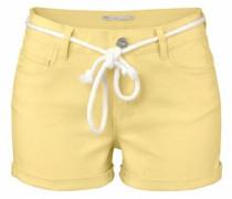 Shorts 'claudia' gelb