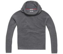 Pullover 'thdw Basic RN Sweater L/S 5' grau