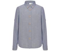 Langarmhemd 'Fan' blau