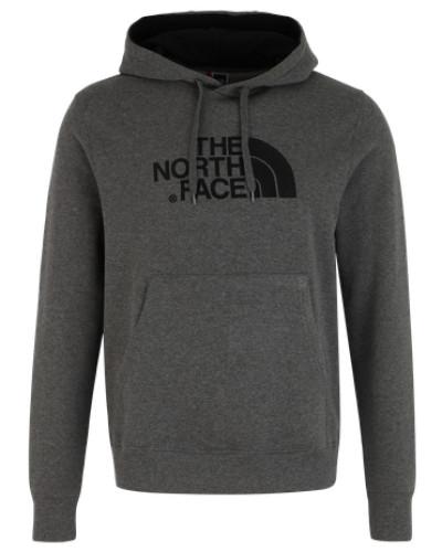 Sweater mit Label-Stickerei dunkelgrau