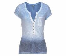 Strickshirt 'Desiree' blau