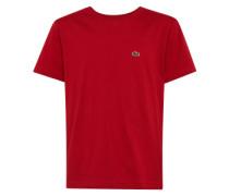 T-Shirt mit Marken-Emblem rot
