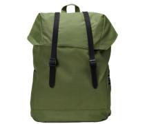 Trendiger Rucksack grün