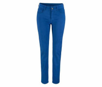 Stretch-Jeans 'Angela Pipe Smart' blau