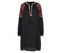 Kleid 'yaspossy' rot / schwarz