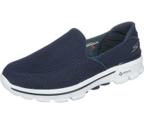 'Go Walk 3' Sneakers blau