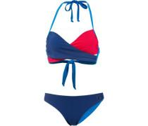 Bandeau Bikini marine / royalblau / rot