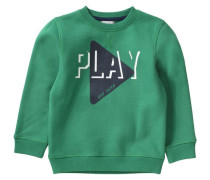 Sweatshirt für Jungen grün