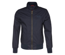 Jacke 'longhorn Harrington' blau