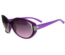 Sonnenbrille lila / rotviolett