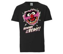"""T-Shirt """"das Tier"""" schwarz"""