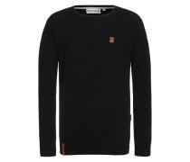 Knit Sweater Zapzarap Zip Zap II schwarz