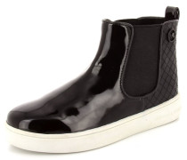 Chelsea Boot Synthetik schwarz