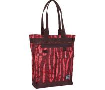 Shopper Tasche rot / burgunder / melone