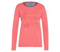Shirt mit Print 'dolphin' pink