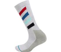 ein Paar Socken grau