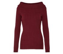 Pullover 'Ava' weinrot