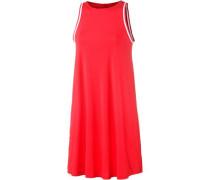 Trägerkleid rot