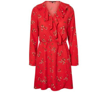 Wickel Kleid rot